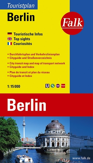 Falk Touristplan Berlin 1:15 000