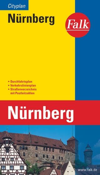 Falk Cityplan Nürnberg 1:20 000