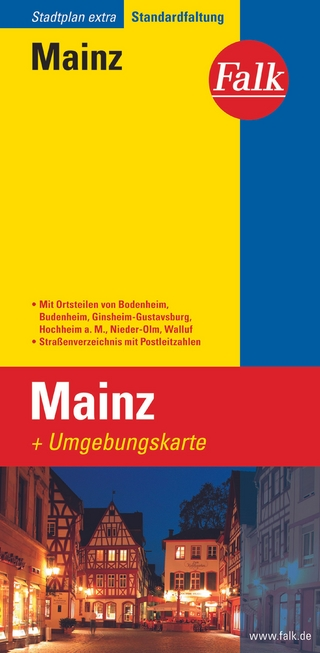Falk Stadtplan Extra Mainz 1:17 500