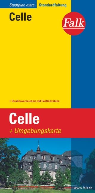 Falk Stadtplan Extra Standardfaltung Celle 1:20 000