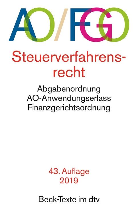 Abgabenordnung mit Finanzgerichtsordnung und… | ISBN 978-3 ...