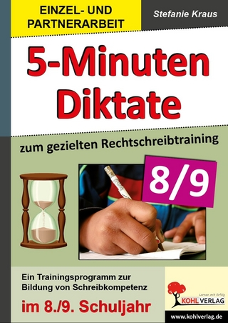 5-Minuten-Diktate / Klasse 8-9 - Stefanie Kraus