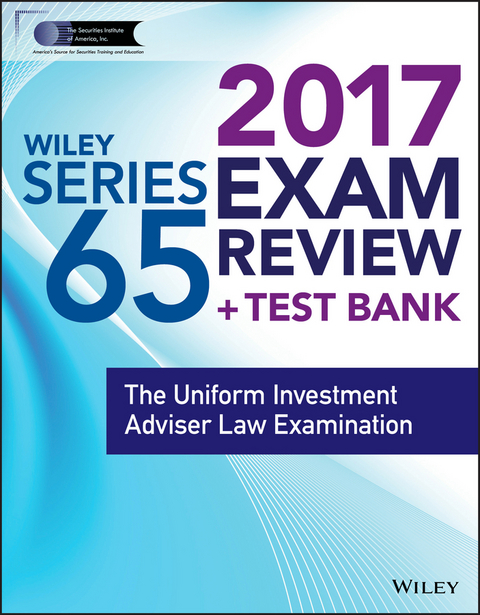 Ebook wiley finra series 65 exam review 2017 isbn 978 1 119 40321 wiley finra series 65 exam review 2017 ebook fandeluxe Gallery