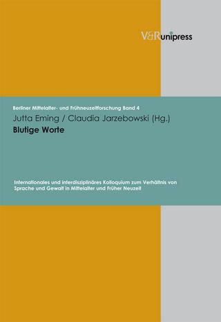 Blutige Worte - Jutta Eming; Claudia Jarzebowski