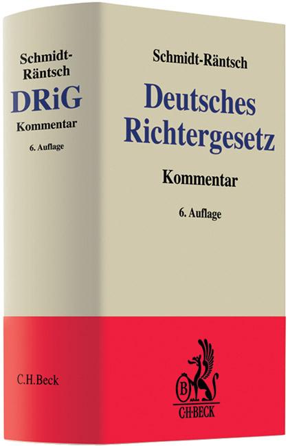 Deutsches Richtergesetz Von G Uuml Nther Schmidt R Auml Ntsch Isbn 978 3 406 49947 0 Fachbuch Online Kaufen Lehmanns De