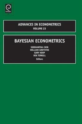 Bayesian Econometrics von Siddhartha Chib | ISBN 978-1-84855