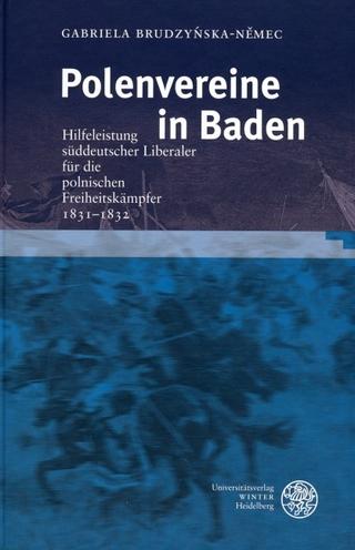 Polenvereine in Baden - Gabriela Brudzy?ska-N?mec