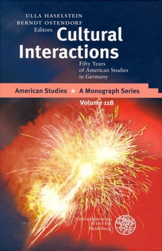 Cultural Interactions - Ulla Haselstein; Berndt Ostendorf