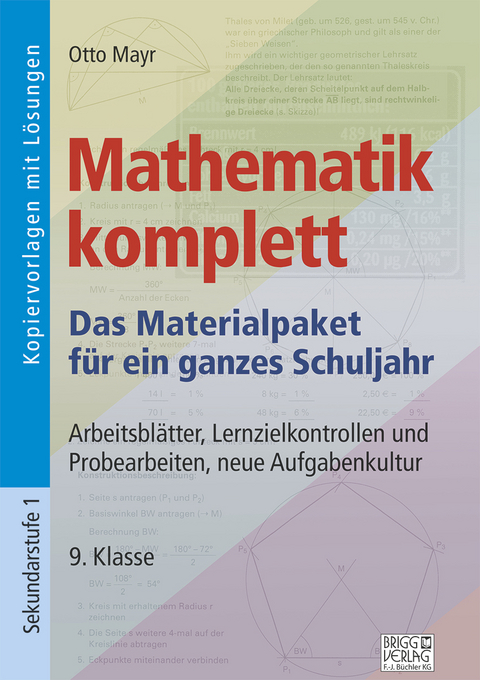 Mathematik komplett - 9. Klasse von Otto Mayr   ISBN 978-3-95660-020 ...