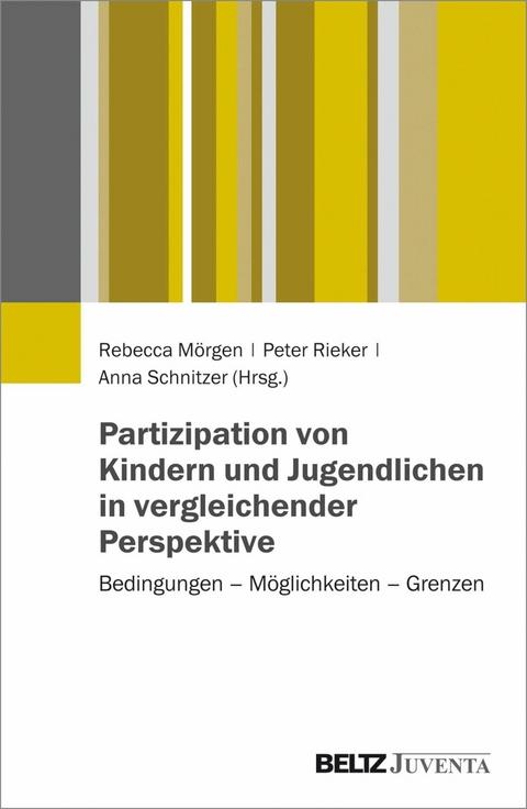 eBook: Partizipation von Kindern und Jugendlichen in… von Rebecca ...