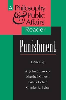 Punishment - A. John Simmons; Marshall Cohen; Joshua Cohen; Charles R. Beitz