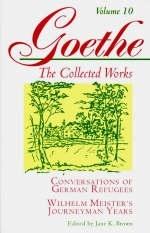 Goethe, Volume 10 - Johann Wolfgang Von Goethe; Jane K. Brown