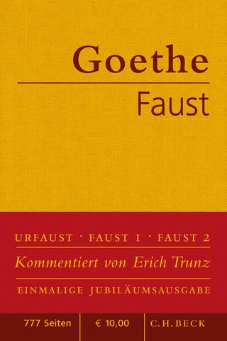 Faust - Johann Wolfgang von Goethe; Erich Trunz
