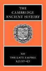 The Cambridge Ancient History - Averil Cameron; Peter Garnsey