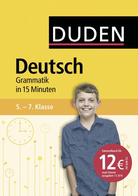 eBook: Deutsch in 15 Minuten - Grammatik 5.-7. Klasse | ISBN 978-3 ...