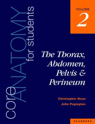Core Anatomy for Students - Christopher Dean; John Pegington