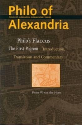 Philo's Flaccus - Pieter W. van der Horst