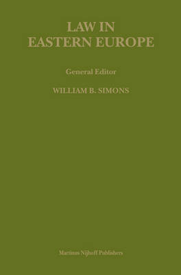 International and National Law in Russia and Eastern Europe - Ferdinand J.M. Feldbrugge; Roger Clark; Stanislaw Pomorski
