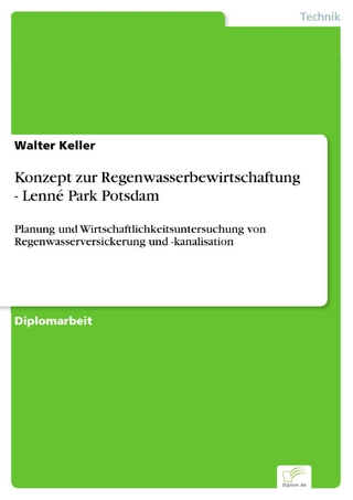Konzept zur Regenwasserbewirtschaftung - Lenné Park Potsdam - Walter Keller