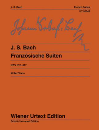 Französische Suiten - Johann Sebastian Bach; Hans-Christian Müller