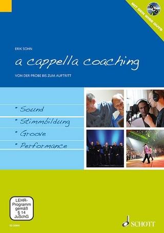 a cappella coaching - Wise Guys; Erik Sohn