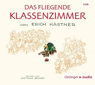 Das fliegende Klassenzimmer (4 CD) - Matthias Brandt; Jan-Peter Pflug; Erich Kästner