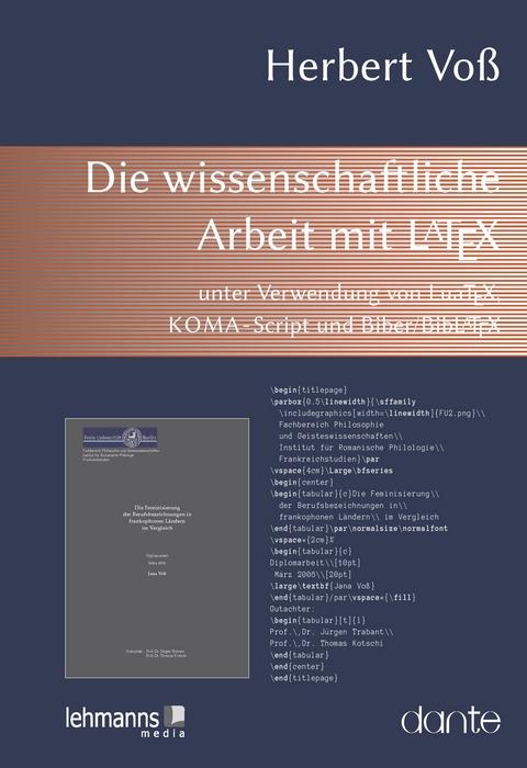 Die Wissenschaftliche Arbeit Mit Latex Von Herbert Voss Isbn 978 3