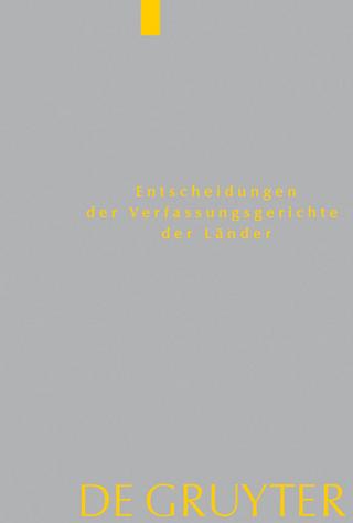 Baden-Wurttemberg, Berlin, Brandenburg, Bremen, Hamburg, Hessen, Mecklenburg-Vorpommern, Niedersachsen, Saarland, Sachsen, Sachsen-Anhalt, Schleswig-Holstein, Thuringen - Von Den Mitgliedern Der Gerichte