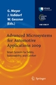 Advanced Microsystems for Automotive Applications 2009 - Gereon Meyer;  Jürgen Valldorf;  Wolfgang Gessner