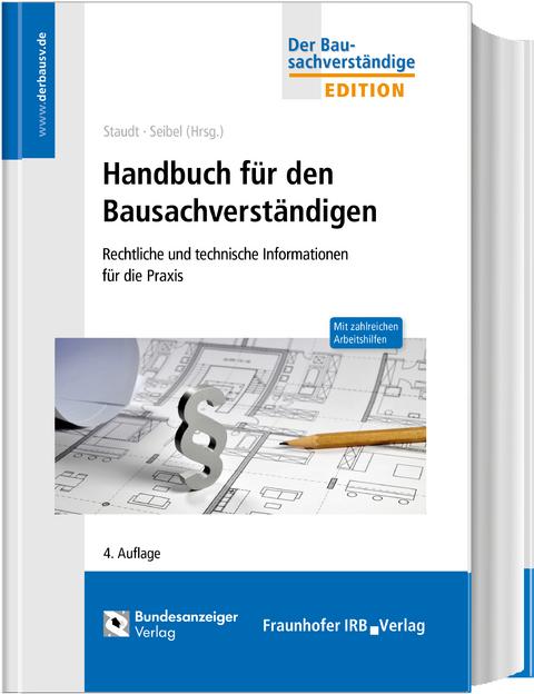 staudt seibel handbuch f r den bausachverst ndigen isbn. Black Bedroom Furniture Sets. Home Design Ideas