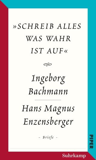Salzburger Bachmann Edition - Ingeborg Bachmann; Hans Magnus Enzensberger; Hubert Lengauer