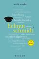 Helmut Schmidt. 100 Seiten - Meik Woyke