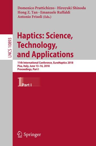 Haptics: Science, Technology, and Applications - Domenico Prattichizzo; Hiroyuki Shinoda; Hong Z. Tan; Emanuele Ruffaldi; Antonio Frisoli