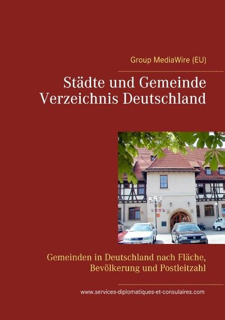 Städte und Gemeinde Verzeichnis Deutschland - Heinz Duthel