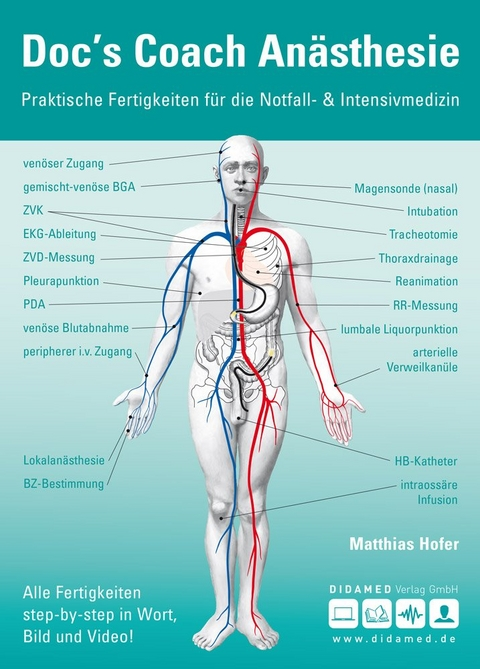 Doc\'s Coach Anästhesie von Matthias Hofer   ISBN 978-3-938103-36-4 ...