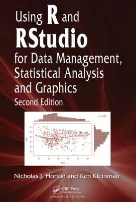Using R and RStudio for Data Management, Statistical Analysis, and Graphics  (eBook)