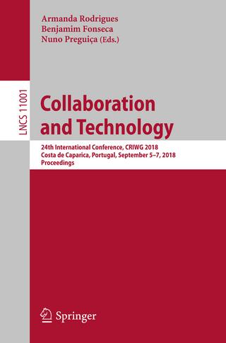 Collaboration and Technology - Armanda Rodrigues; Benjamim Fonseca; Nuno Preguiça