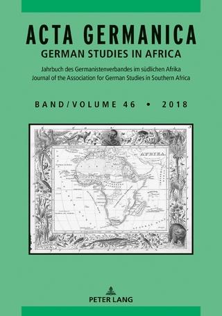 Acta Germanica - Carlotta Von Maltzan