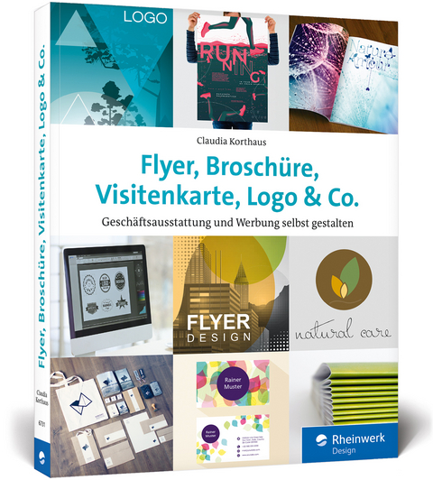 Flyer Broschüre Visitenkarte Logo Co