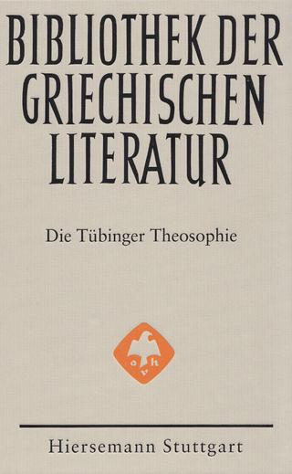 Die Tübinger Theosophie