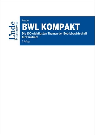 BWL kompakt - Christian Kreuzer