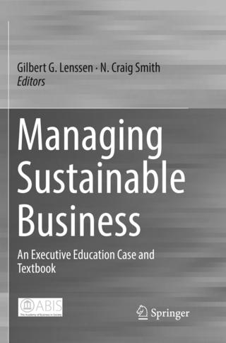Managing Sustainable Business - Gilbert G. Lenssen; N. Craig Smith