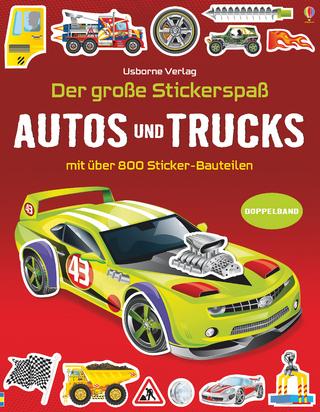 Der große Stickerspaß: Autos und Trucks - Simon Tudhope