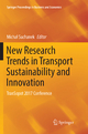 New Research Trends In Transport Sustainability And Innovation: Transopot 2017 Conference