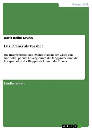 Das Drama als Parabel - Dorit Heike Gruhn