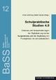 Schulpraktische Studien 4.0 - Anke Schöning; Astrid Krämer