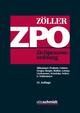 Zivilprozessordnung - Richard Zöller