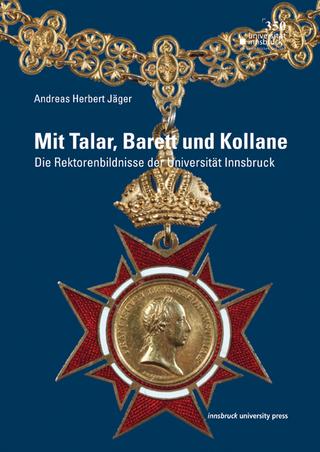 Mit Talar, Barett und Kollane - Andreas Herbert Jäger