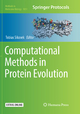 Computational Methods in Protein Evolution