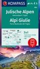 KOMPASS Wanderkarte Julische Alpen, Nationalpark Triglav, Alpi Giulie - KOMPASS-Karten GmbH